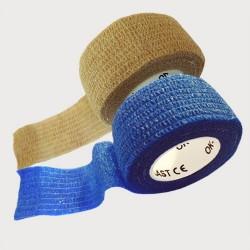 OK-plast 2 ks - náplast béžová a modrá (2,5x450)