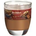 Bolsius Aromatic Sklo 70x80 Plum & Almond Pie vonná svíčka