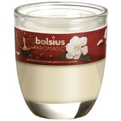 Bolsius Aromatic Sklo 70x80 Jasmine & Pomegranate vonná svíčka