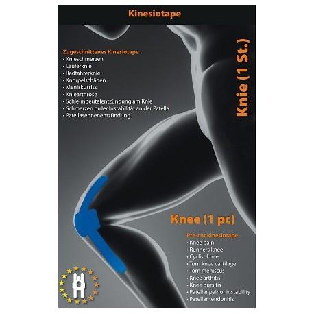 Kinetický tejp na koleno
