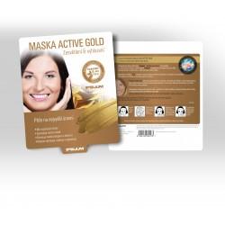 Maska ACTIVE GOLD Zesvětlení a vyhlazení 25g
