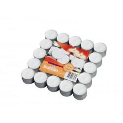 Neparfumované čajové svíčky (50 ks)