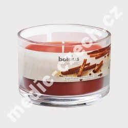 BOLSIUS Aroma svíčka ve skle 63/90 - Cukr a skořice