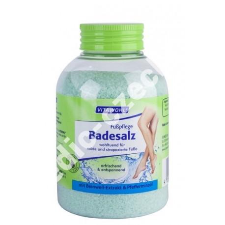 Koupelová sůl pro péči na nohy 600g