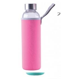 Skleněná láhev s ochranným pouzdrem 0,55 litru