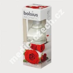 Bolsius aroma difuzér Růže 45 ml