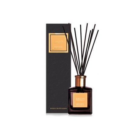 AREON HOME PERFUME BLACK 150ml Gold Amber