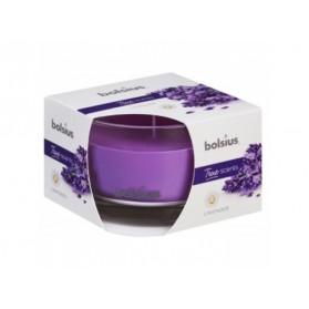 BOLSIUS aroma svíčka ve skle 63/90 Levandule