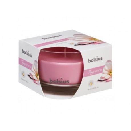 BOLSIUS aroma svíčka ve skle 63/90 Magnolie
