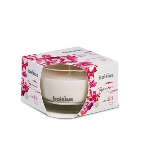 BOLSIUS Aroma svíčka ve skle 63/90 Pure romance