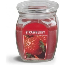 BOLSIUS Aroma svíčka ve skle 120/92 Strawberry