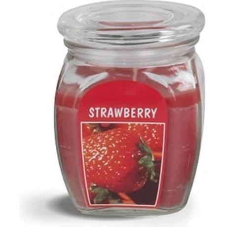 BOLSIUS Aroma svíčka ve skle 120/92 Strawberry