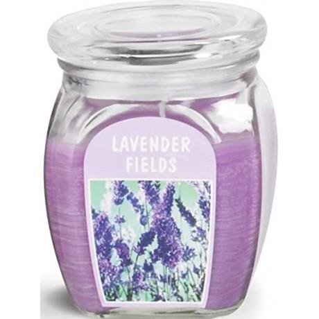 BOLSIUS Aroma svíčka ve skle 120/92 Lavender Fiels