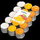 Čajové svíčky Bolsius- Mango(30ks)