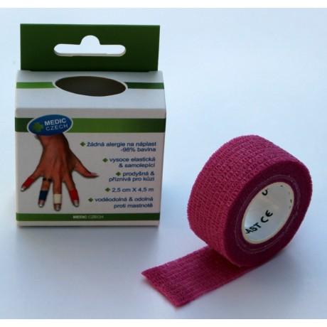 OK-plast Růžový (2,5 cm / 4,5 m)